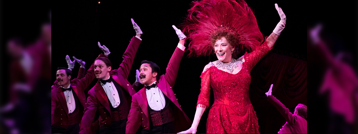 Betty Buckley stars in the national tour of Hello, Dolly!