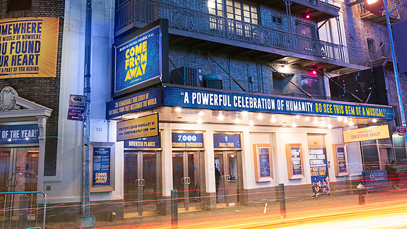 The Dynamic Duo Behind Come From Away