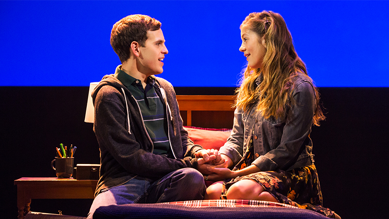 Dear Evan Hansen Lottery >> FIRST LOOK: Taylor Trensch in Dear Evan Hansen | Broadway Direct