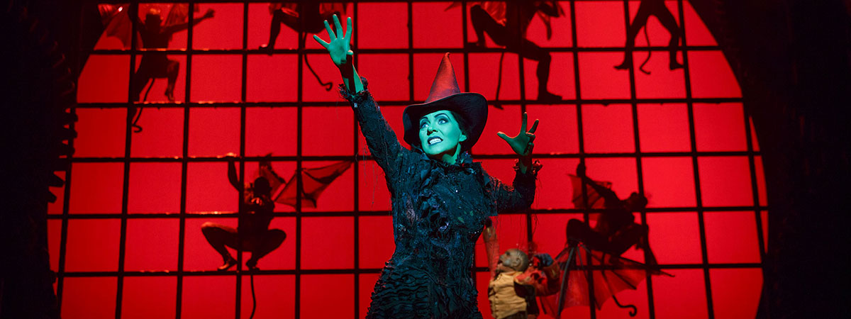 Rachel Tucker in Wicked on Broadway