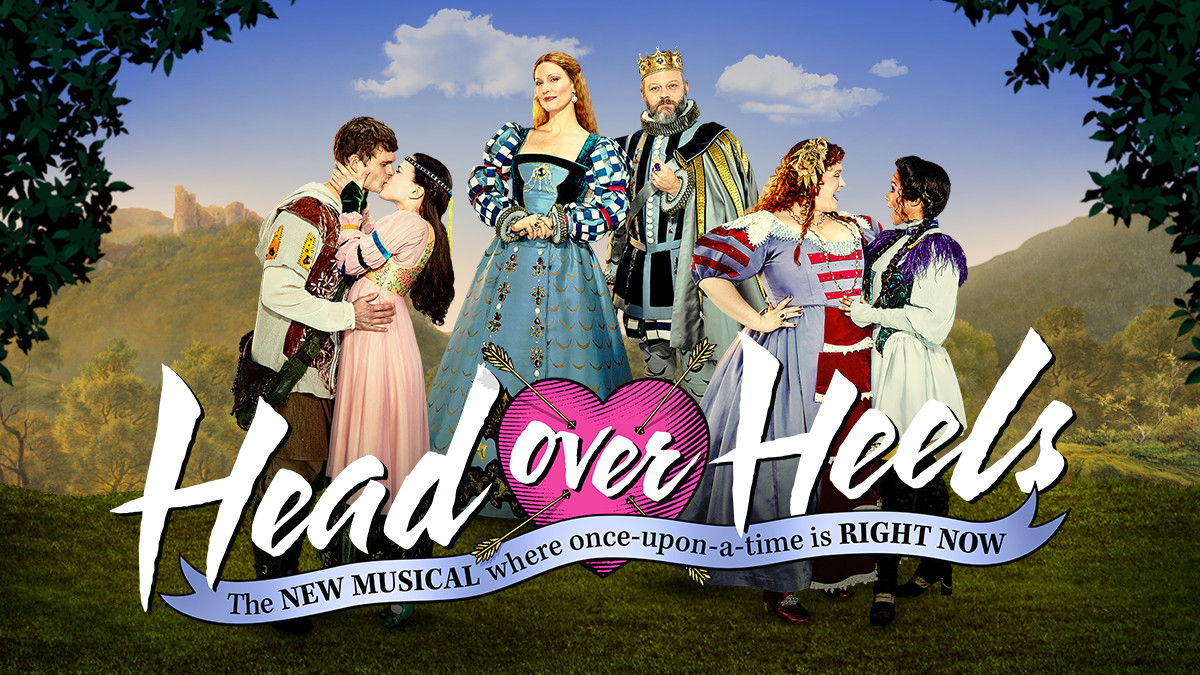 Head Over Heels the Musical on Broadway