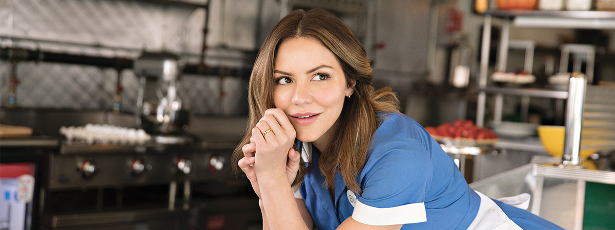 Katharine McPhee in Waitress