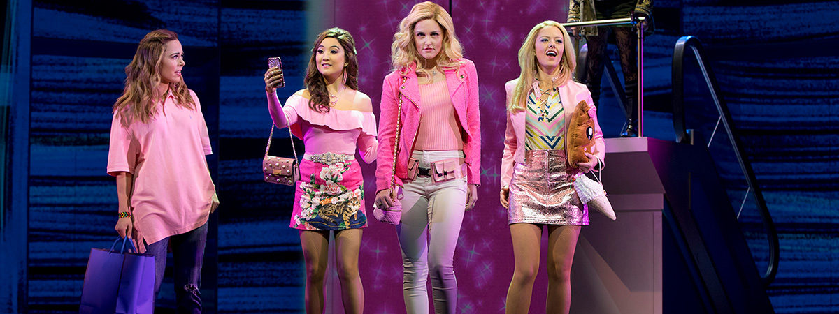 The cast of Mean Girls the Musical on Broadway