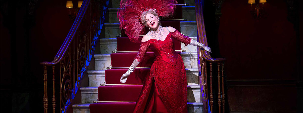 Bette Midler returns in Hello, Dolly!