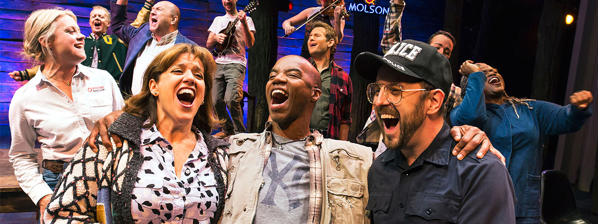 The Broadway cast of Come From Away