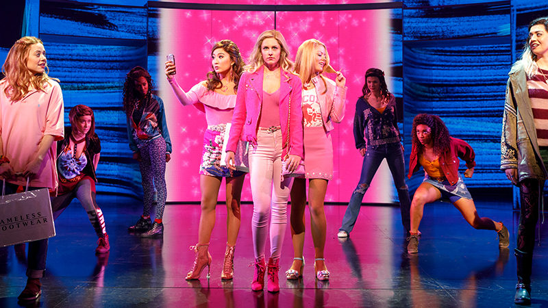 Queen Bees and Wannabees Celebrate the Opening of <i>Mean Girls</i>