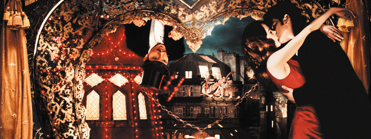 A still frame from the motion picture Moulin Rouge