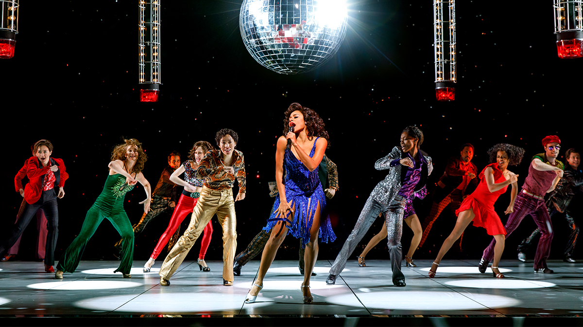 The Broadway company of Summer: The Donna Summer Musical