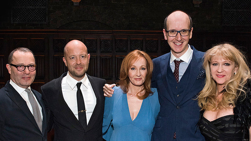 The creative team for Harry Potter and the Cursed Child on Broadway