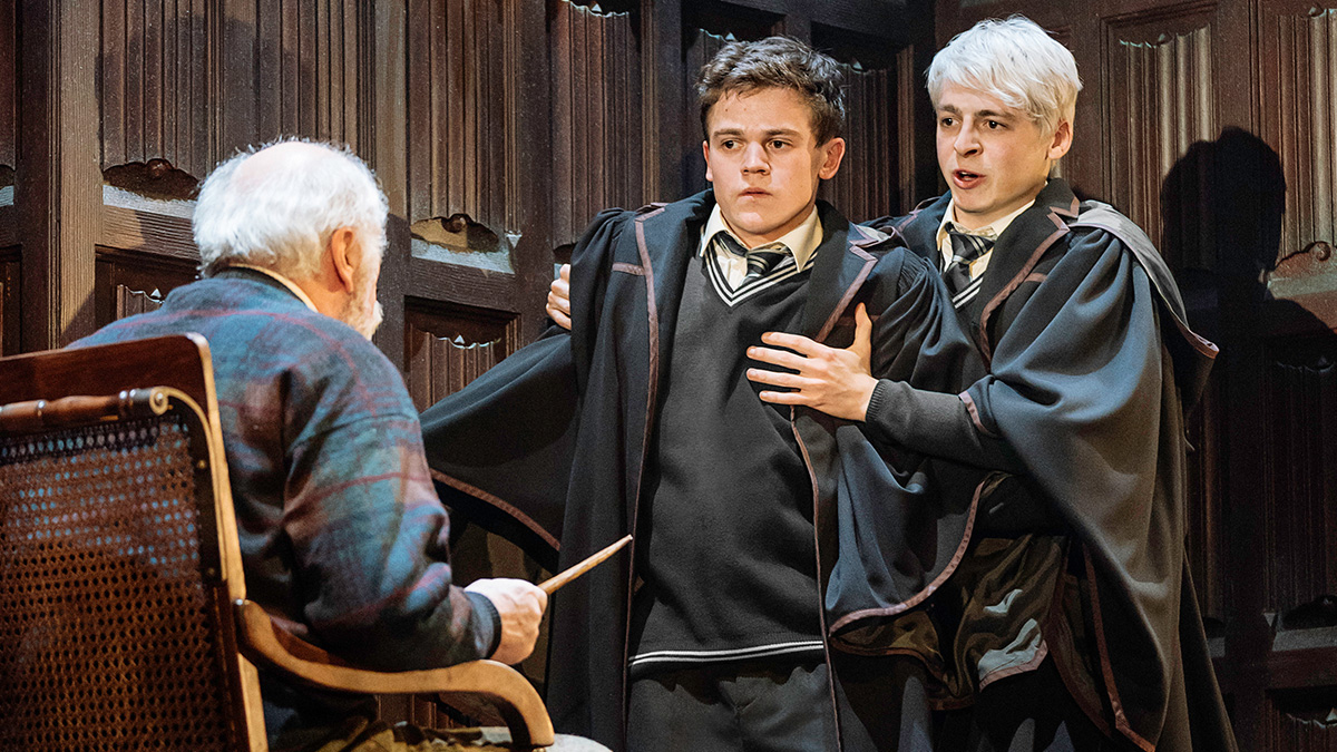 Edward James Hyland, Sam Clemmett & Anthony Boyle. Photo by Manuel Harlan.