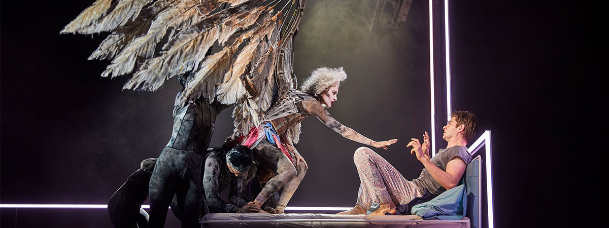 Angels in America, starring Andrew Garfield, extends its Broadway run