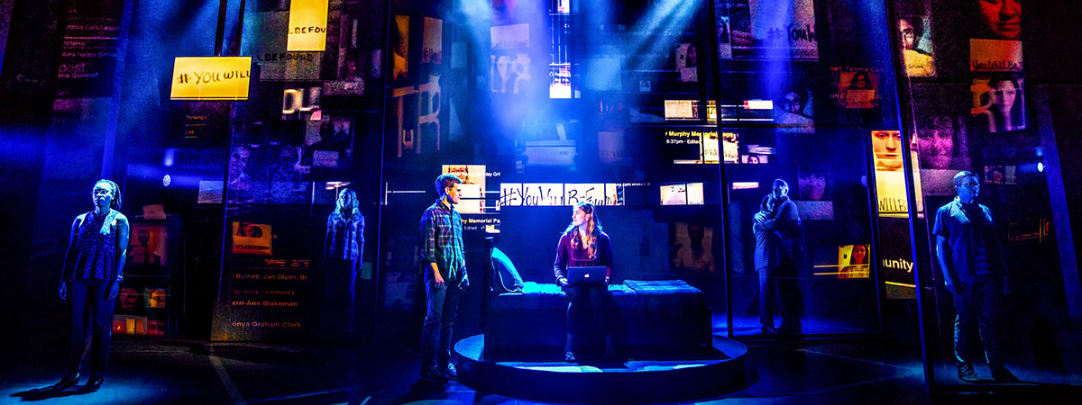 The Broadway company of Dear Evan Hansen