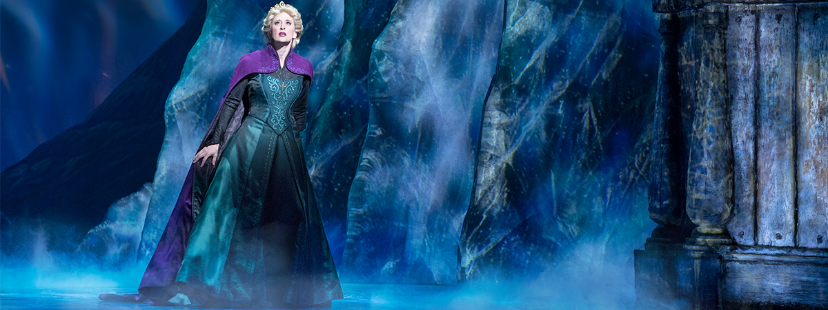 Caissie Levy in Frozen the Musical on Broadway