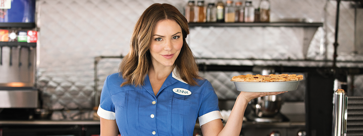 Katharine McPhee stars in Waitress the Musical on Broadway