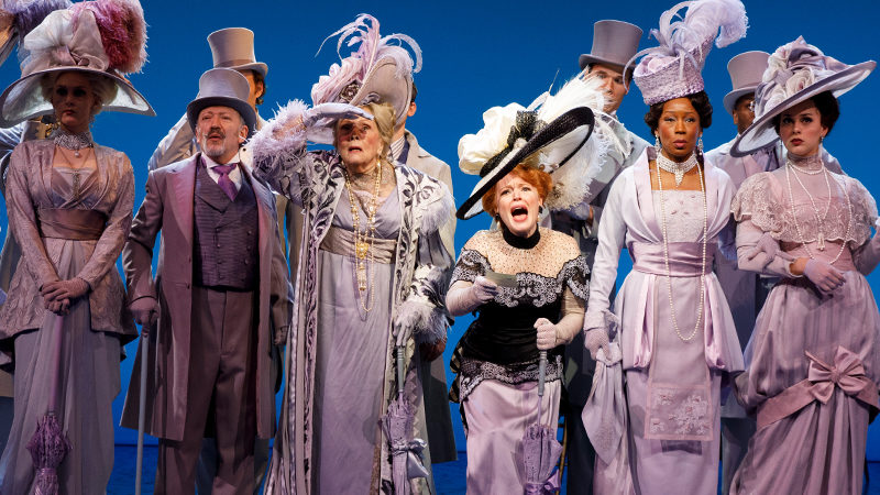 The cast of My Fair Lady on Broadway