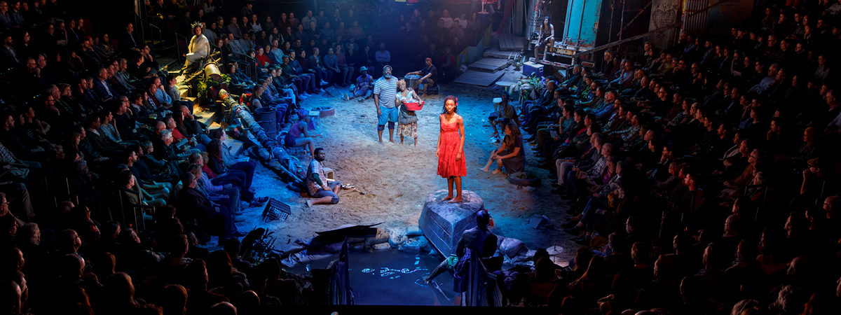 Surround Set: The Immersive Design of <i>Once on This Island</i>