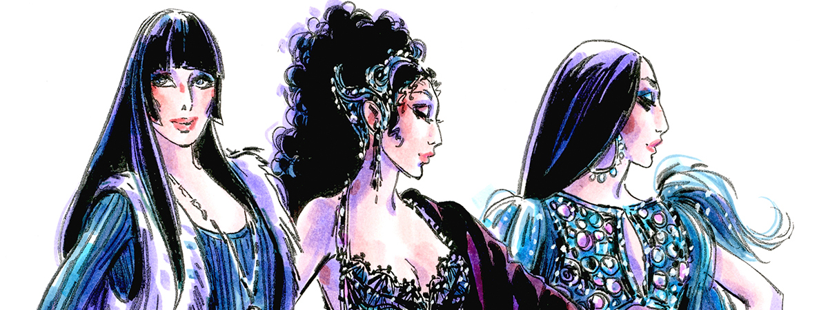 The Cher Show costume designs by Bob Mackie