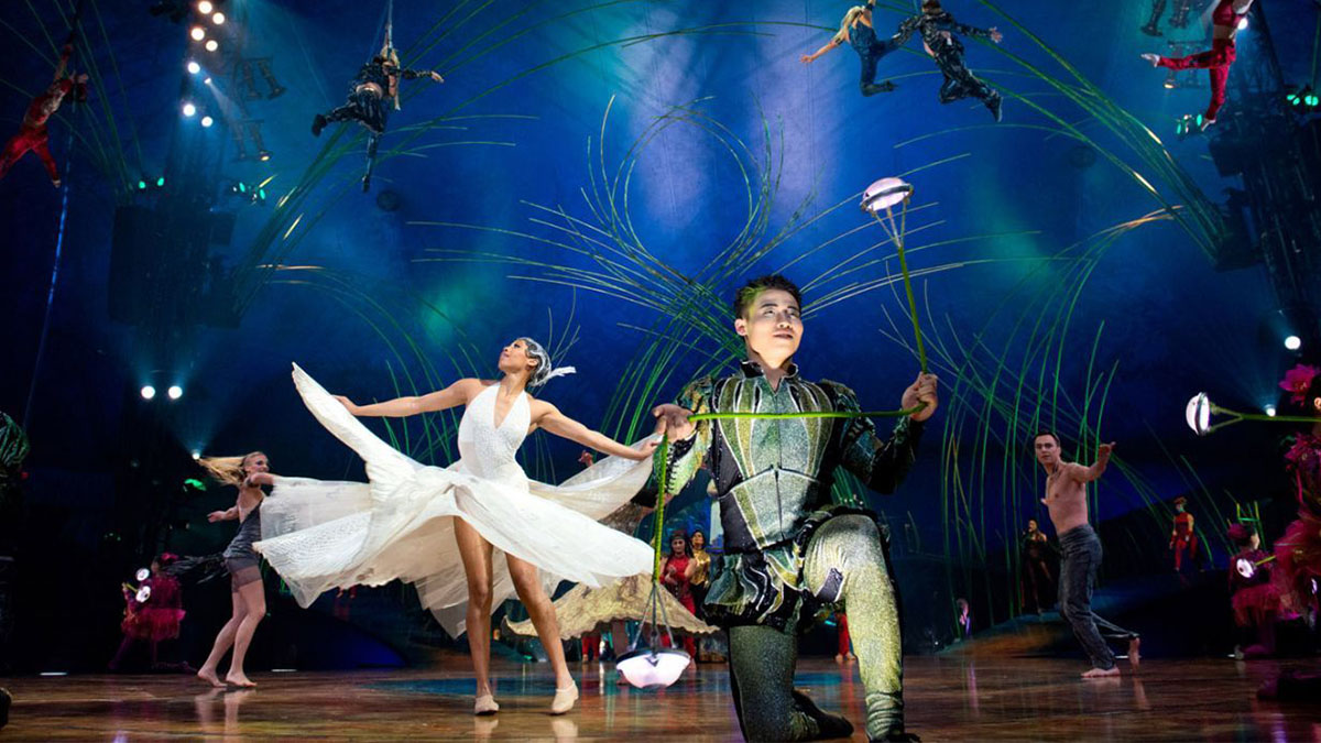 Cirque du Soleil Comes to BroadwayHD