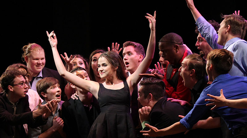 Students competing in the 2018 Jimmy Awards