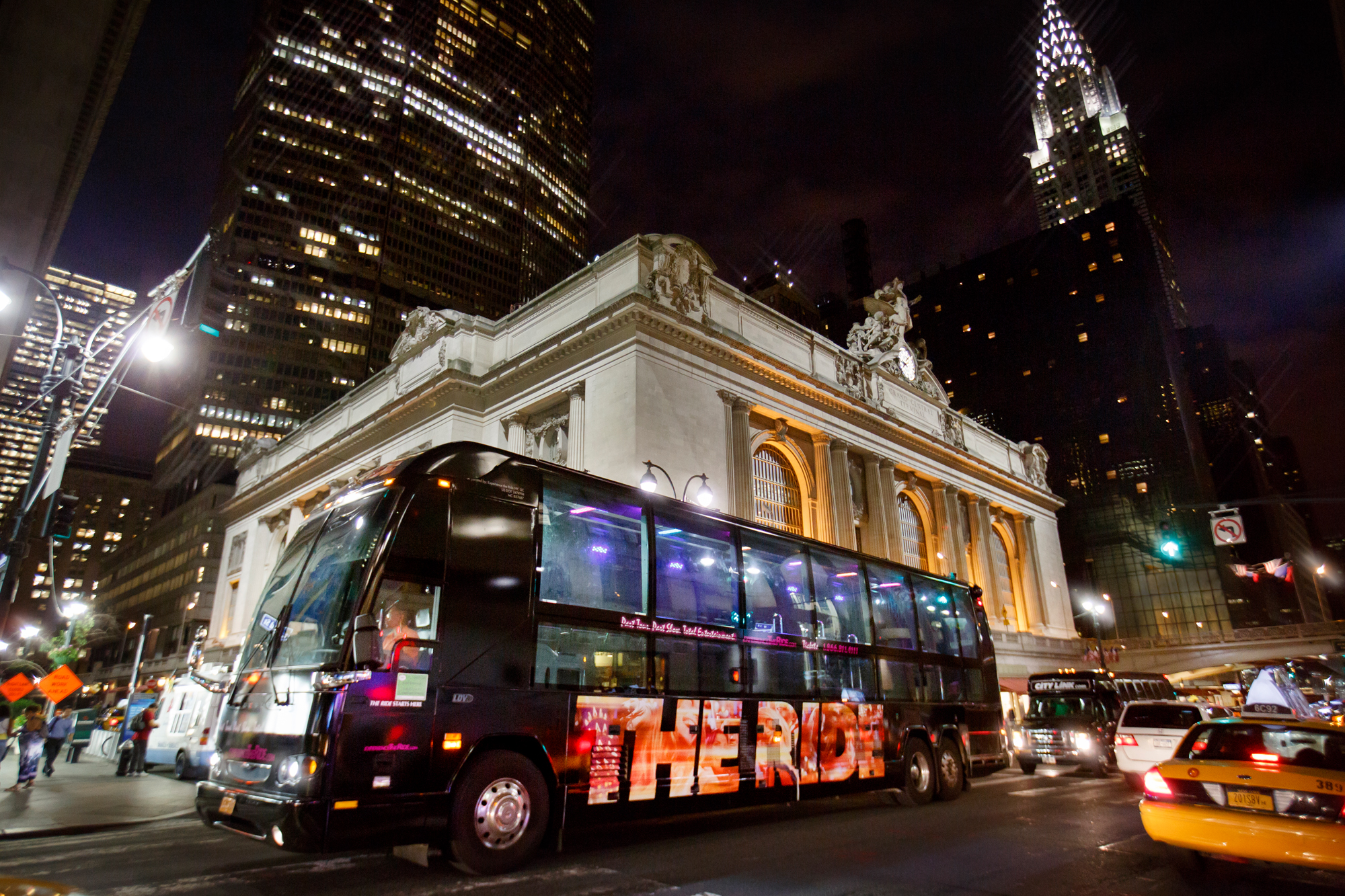 The interactive bus tour of New York City, The Ride.