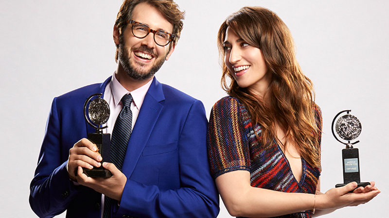 Josh Groban and Sara Bareilles will host the 2018 Tony Awards