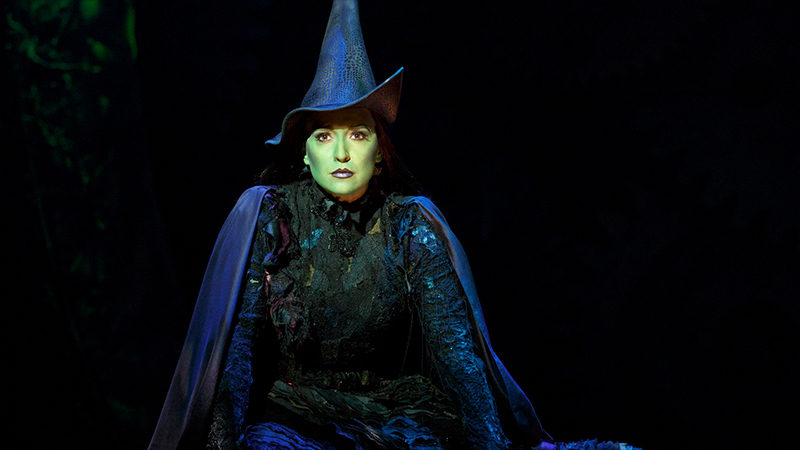 Jessica Vosk in the National Tour of Wicked