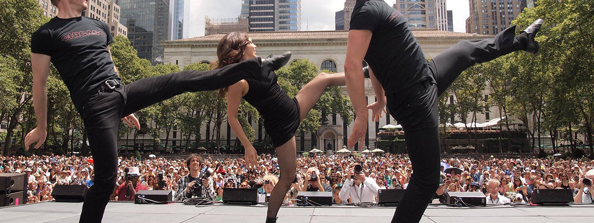 Broadway in Bryant Park Commences with McPhee, <i>SpongeBob</i>, and More
