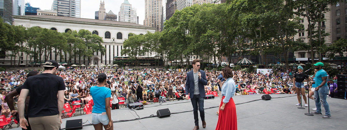 Broadway in Bryant Park Returns This Summer