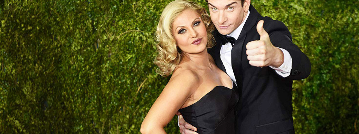 Orfeh and Andy Karl on the Red Carpet