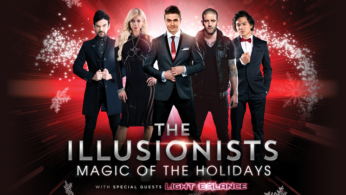 The Illusionists Magic of the Holidays on Broadway with special guest Light Balance