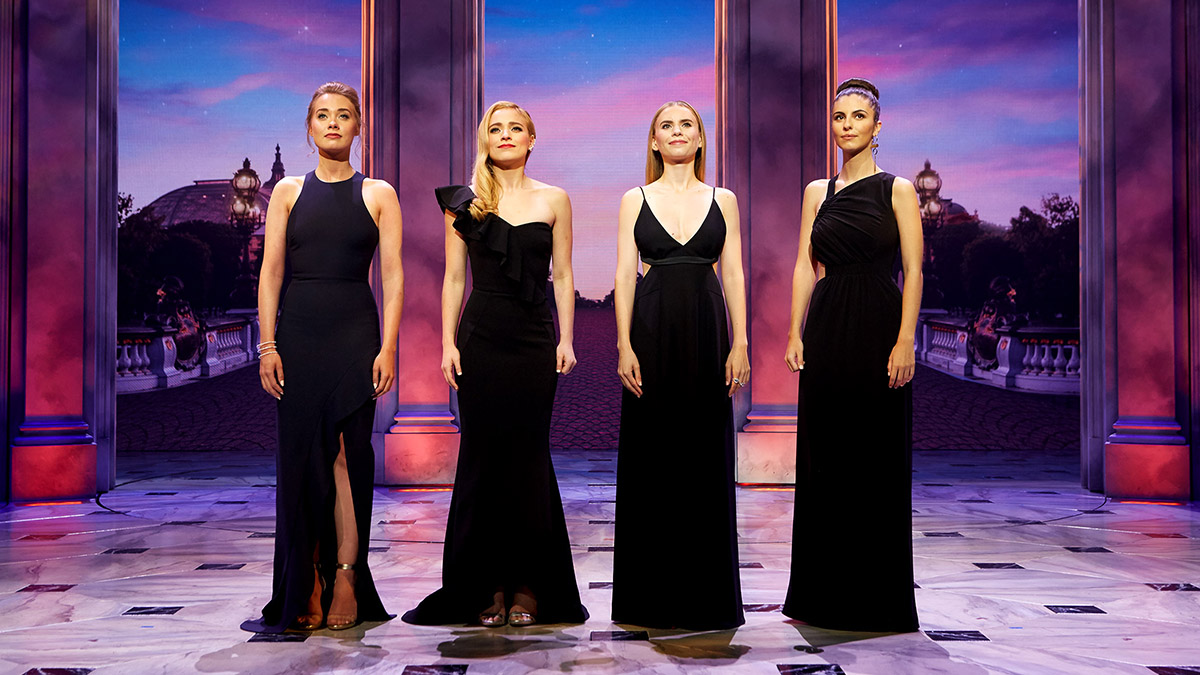 Four Anya's perform a medley from Broadway's Anastasia