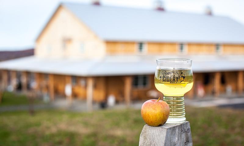 Pennings Farm Cidery, Warwick, PA.