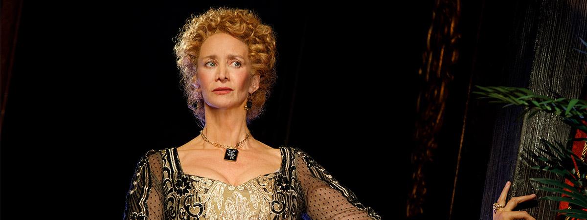 Janet McTeer in Bernhardt/Hamlet. Photo by Joan Marcus.