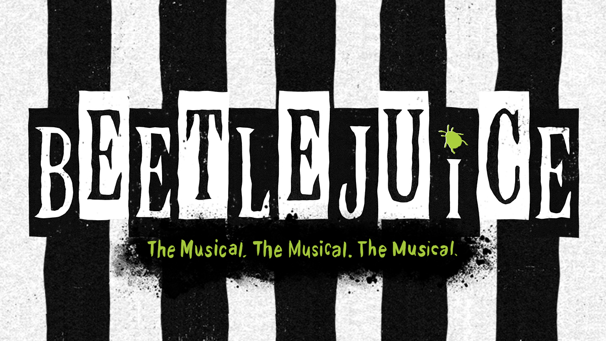 Beetlejuice the Broadway musical