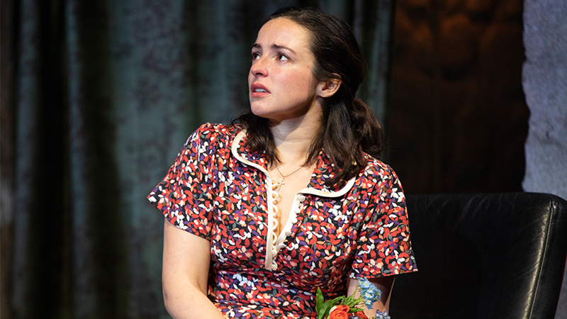 Laura Donnelly in <i>The Ferryman</i>. Photo by Joan Marcus.