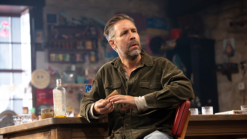 Paddy Considine in <i>The Ferryman</i>. Photo by Joan Marcus.