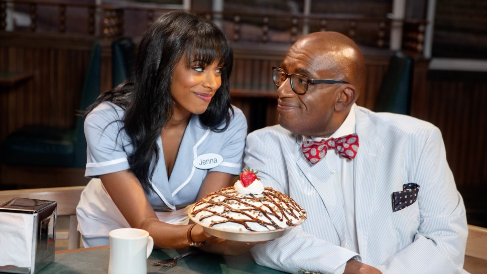 Nicolette Robinson and Al Roker star in Waitress on Broadway