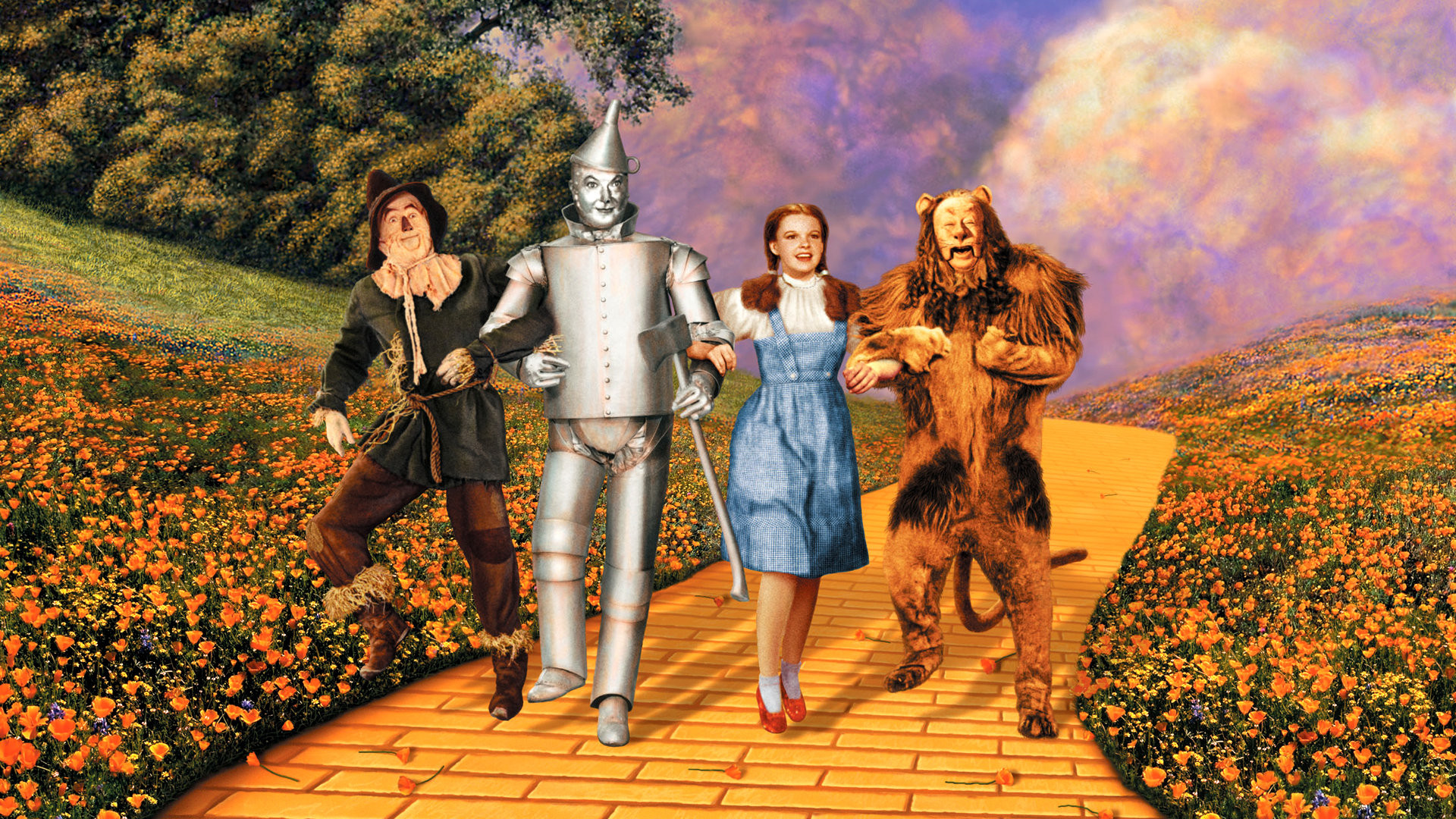 The film cast of The Wizard of Oz