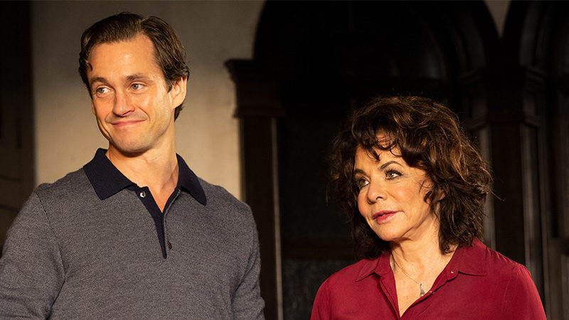 Stockard Channing and Hugh Dancy in Roundabout's production of Apologia