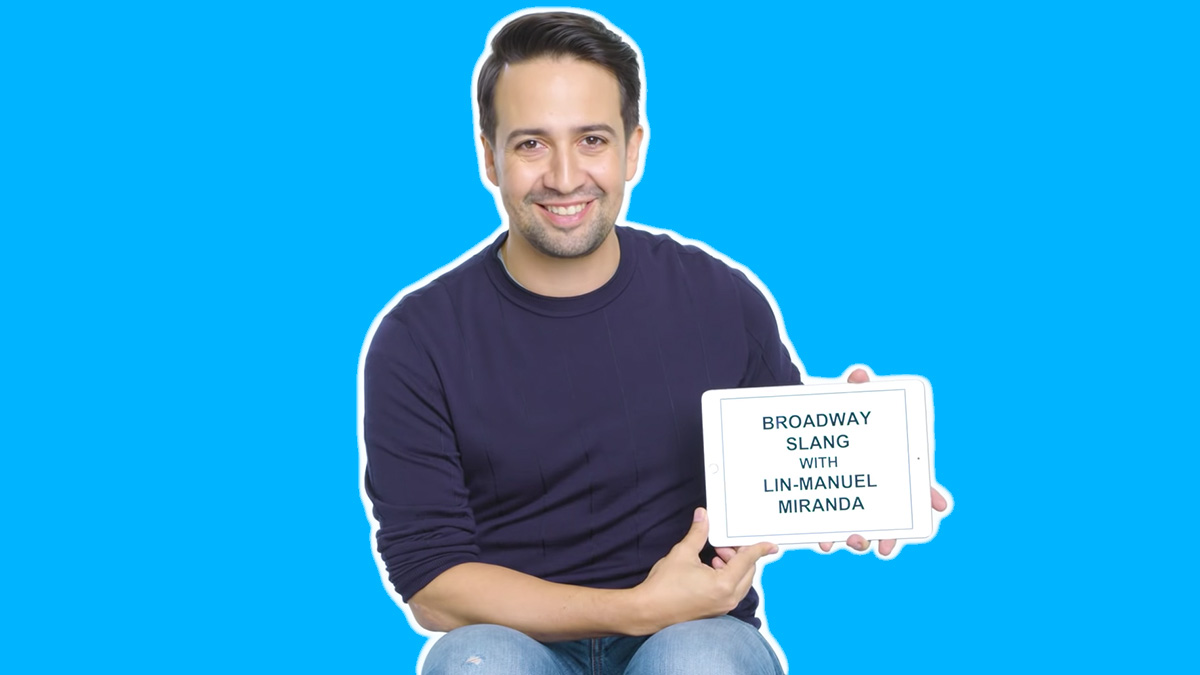 Broadway Slang with Lin-Manuel Miranda