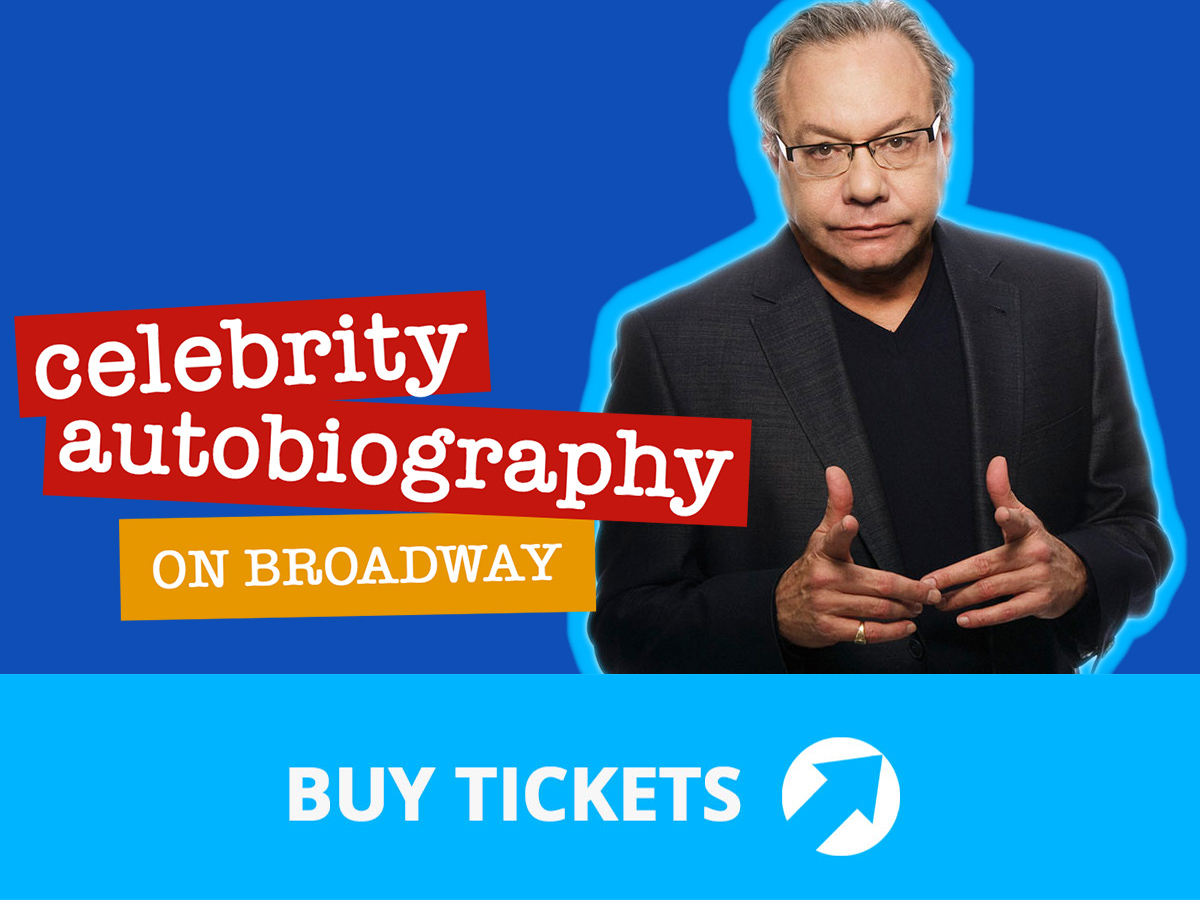 Lewis Black stars in Celebrity Autobiography on November 26, 2018