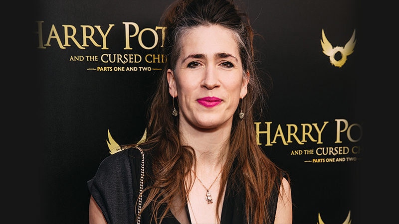 Imogen Heap at the opening night celebration of Harry Potter and the Cursed Child