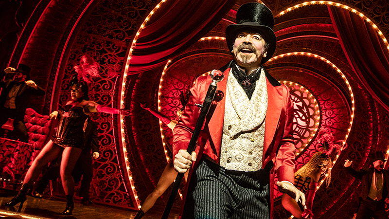 Danny Burstein in <i>Moulin Rouge!</i> Photo by Matthew Murphy.