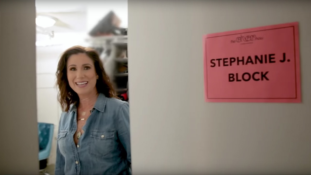 Stephanie J Block gives a tour of her dressing room at the Neil Simon Theatre