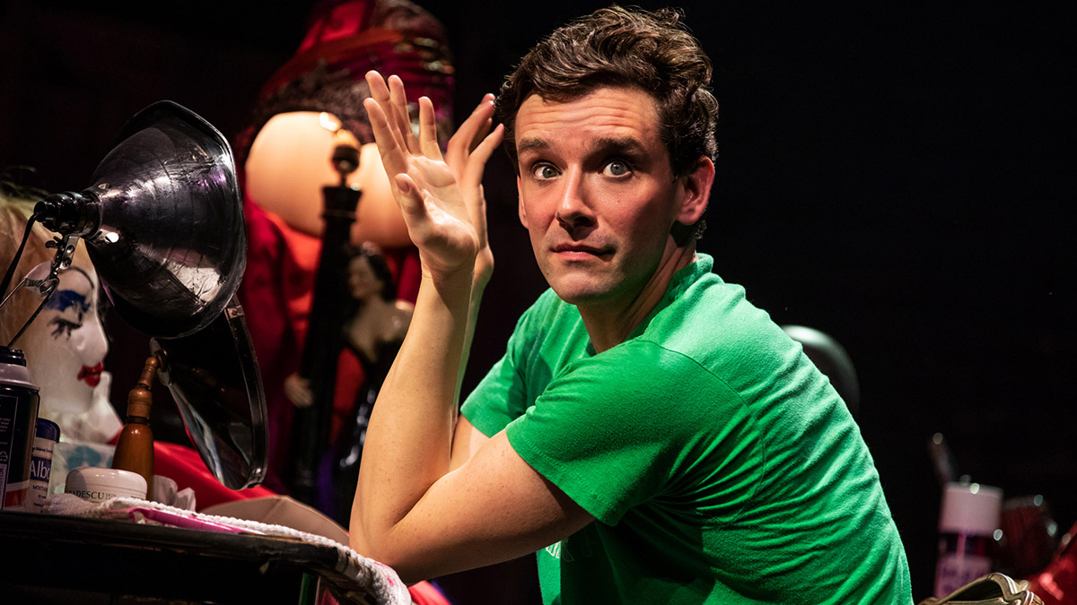 Michael Urie in Torch Song. Photo by Matthew Murphy.