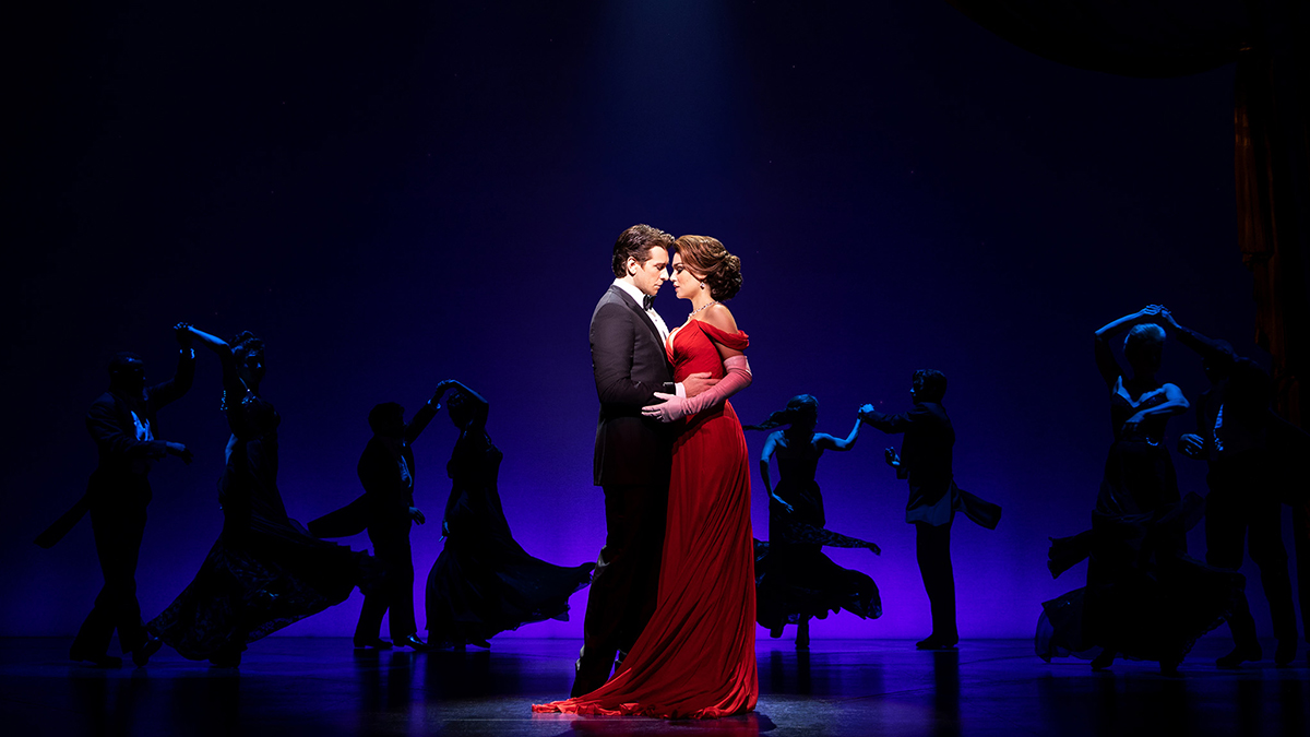 Andy Karl and Samantha Barks in Pretty Woman the Musical on Broadway