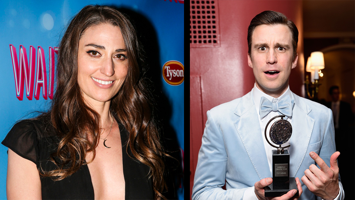 Sara Bareilles and Gavin Creel Join Waitress