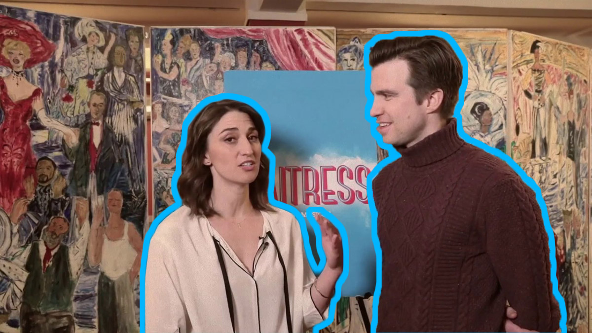 4 questions with Sara Bareilles and Gavin Creel of Waitress the musical