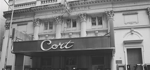 Cort Theatre History Image