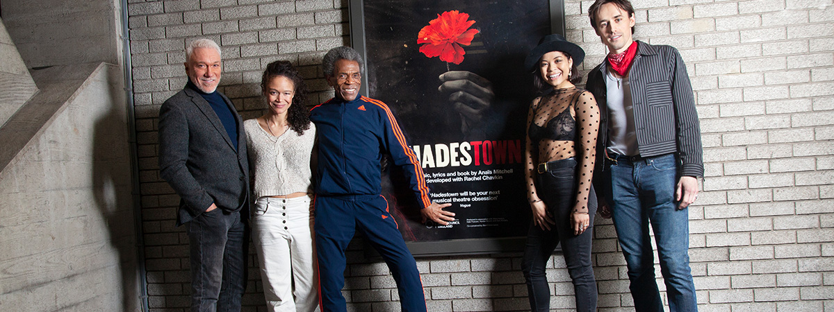 The Broadway cast of Hadestown.